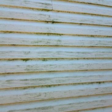 Lavage de murs extérieurs à pression avant